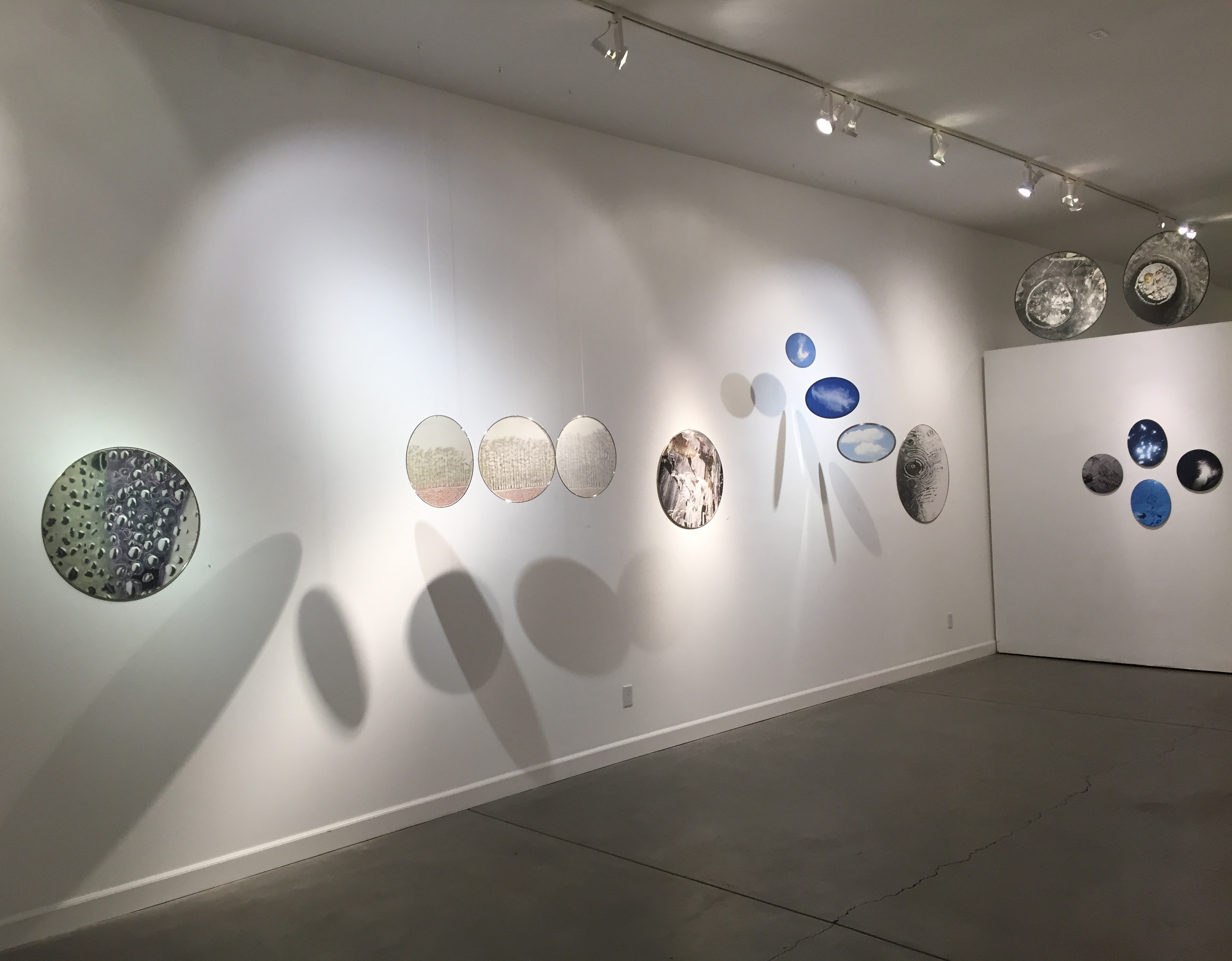 on site at Mary Curtis Ratcliff Full Circle exhibition