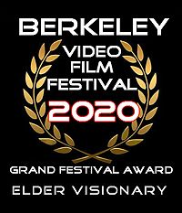 Mary Curtis Ratcliff received the Elder Visionary Award, Berkeley Video Film Festival